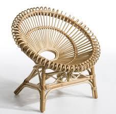 siege en rotin coussin pour fauteuil en rotin
