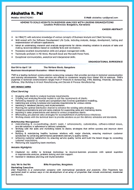 Business Analyst Objective In Resume Create Your Astonishing Business Analyst Resume And Gain The Position