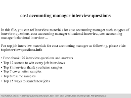 free resume templates for accounting manager interview question costaccountingmanagerinterviewquestions 140831004830 phpapp02 thumbnail 4 jpg cb 1409446148