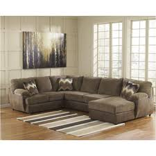 ashley furniture floor ls 2410034 ashley furniture cladio hickory armless loveseat