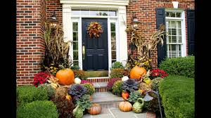 decorating home for halloween fall planter decorations ideas youtube