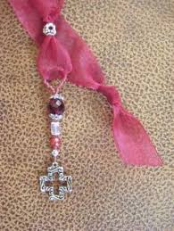 ribbon bookmarks how to make ribbon bookmarks using charms made with swarovski