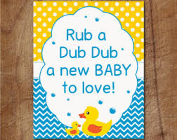 Rubber Ducky Baby Shower Centerpieces by Ducky Baby Shower Etsy