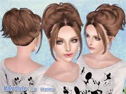 sims 3 custom content hair collection of sims 3 cc hairstyles 1000 images about ts4 male