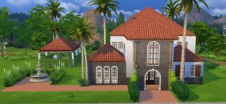 Spanish House Style Mod The Sims 3 Bed 1 Bath Spanish Style Home