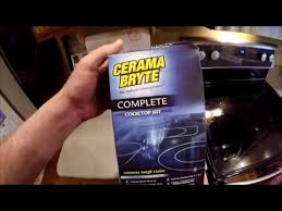 Whirlpool Cooktop Cleaner Clean A Whirlpool Glass Cooktop With Cerama Bryte Youtube