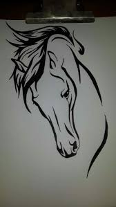 tribal horse drawings i have done pinterest horse tattoo