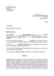 nationalit fran aise mariage exemple gratuit de lettre demande nationalité française par