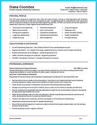 Mechanical Maintenance Resume Sample by Download Aircraft Mechanic Resume Haadyaooverbayresort Com