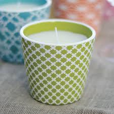 Decorative Citronella Candle from Wayside Gardens