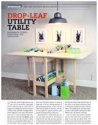 Drop Leaf Table Plans Drop Leaf Table Plans U2022 Woodarchivist