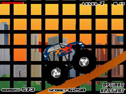 monster truck destroyer kizi games fun