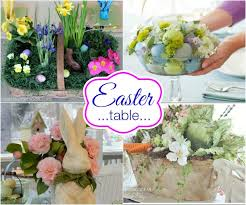 Easter Decoration Centerpiece Ideas by Easy Easter Entertaining Hoosier Homemade