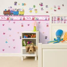 peppa pig wall mural image collections home wall decoration ideas