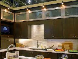 Led Kitchen Lighting Ideas Kitchen Lighting Track In Drum Black Modern Glass Ivory
