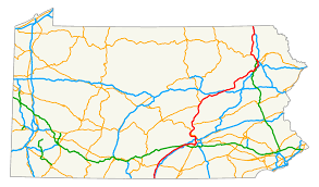 Virginia Capital Trail Map by U S Route 11 In Pennsylvania Wikipedia