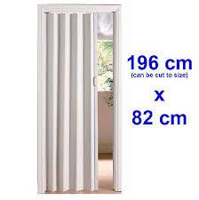 Pvc Room Divider White Folding Pvc Sliding Door Panel Utility Indoor Internal