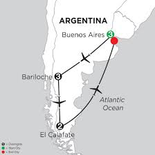 Buenos Aires Map Buenos Aires Vacation Packages From Monograms