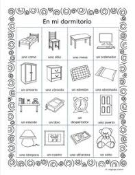 llanguage llamas spanish bedroom vocabulary u2013 mi dormitorio
