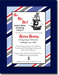 pirate themed baby shower invitations xyz