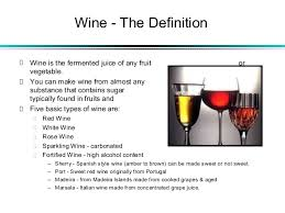 wine facts kinds of wine wine the facts