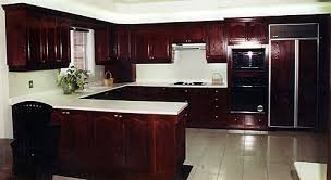 award kitchen refacers u003cp u003ea dark stained wood kitchen can look