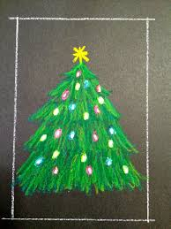 kathy u0027s angelnik designs u0026 art project ideas oil pastel christmas