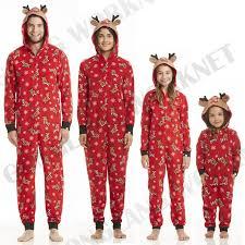 pudcoco family mums matching pajamas sets gift