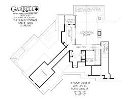 Rustic Cabin Plans Floor Plans Nunley Cottage House Plan House Plans By Garrell Associates Inc