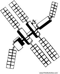 space coloring satellite