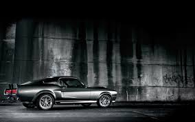 Black Mustang 1967 1967 Shelby Cobra Mustang Wallpaper