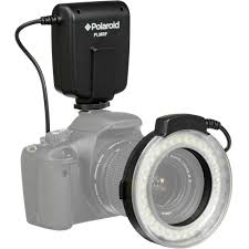 ring light for video camera polaroid macro led ring flash review