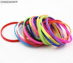 men rubber bracelet images Songdanwyf fashion valentine silicone bands hologram bracelets jpg