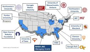 Clemson University Map Human Robotic Systems Hrs Space Technology Game Changing