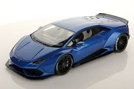cars lamborghini blue 1 18 lamborghini mr collection models