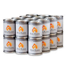 amazon com real flame gel fuel 13 oz cans 24 pack garden