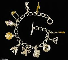 s charm bracelet jk rowling s magic touch the charm bracelet designed by harry