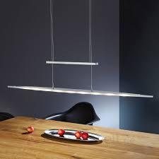 Led Esszimmerlampe Antea Moderne Led Hängeleuchte Aus Edelstahl Kaufen Lampenwelt De