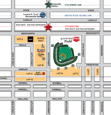 Chicago Parking Zone Map by Transportation Chicago White Sox