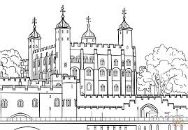 tower of london coloring page free printable coloring pages