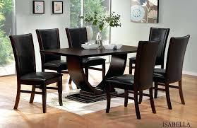 dining table dark brown dining room chair covers table and white