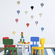 vintage hot air balloon wall decals home design ideas hot air balloon wall decals