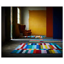 how to vacuum carpet halved rug flatwoven handmade multicolour 170x240 cm ikea