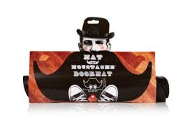 mat the moustache mustache rug doormat welcome mat by mustard ebay