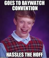 David Hasselhoff Meme - hassled the hoff imgflip