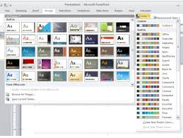 how to create design template in powerpoint how to create a design