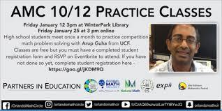 online class high school math amc 10 12 practice online class tickets fri jan 26 2018 at