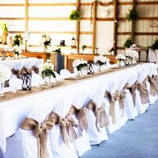 table sashes burlap chair sashes cover jute tie bow burlap table runner burlap