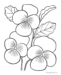 flower printable coloring sheets printable flowers pages