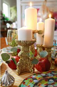 Christmas Table Decorations Cheap by 813 Best Christmas Table Decorations Images On Pinterest